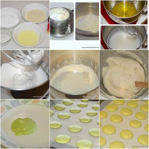 French Macarons- step by step photo directions