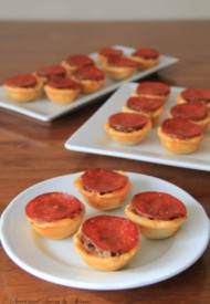 Mini Pizza Tartlets