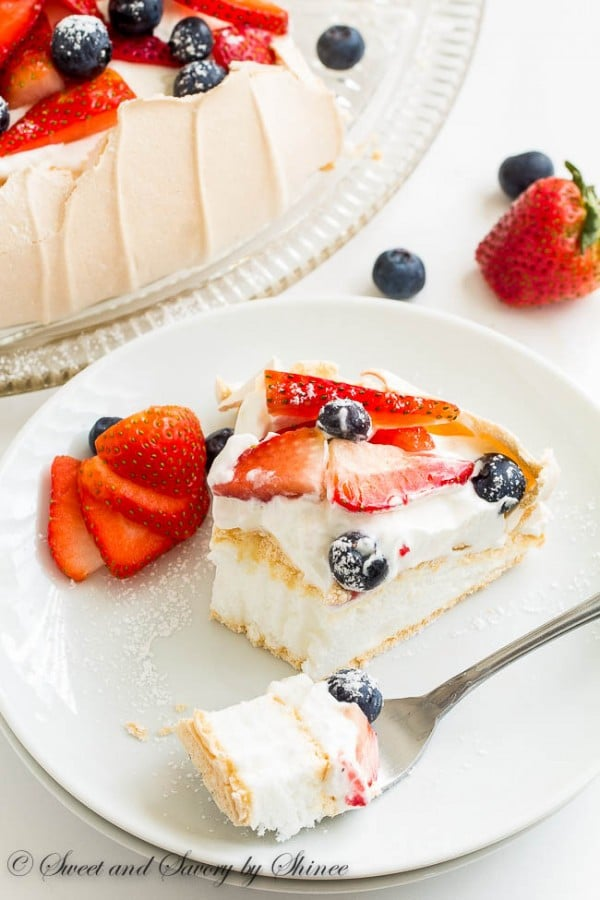 Mother's Day recipe ideas- Classic Pavlova