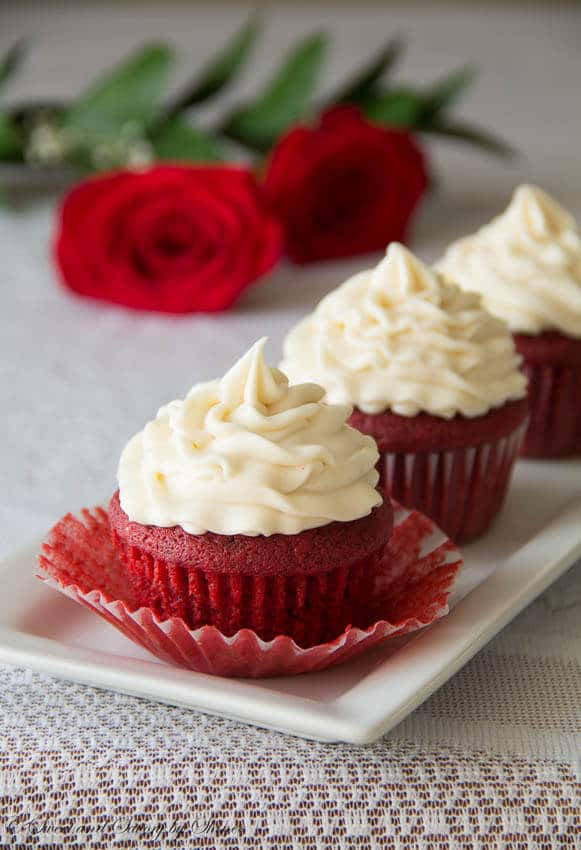 My Favorite Red Velvet Cupcakes