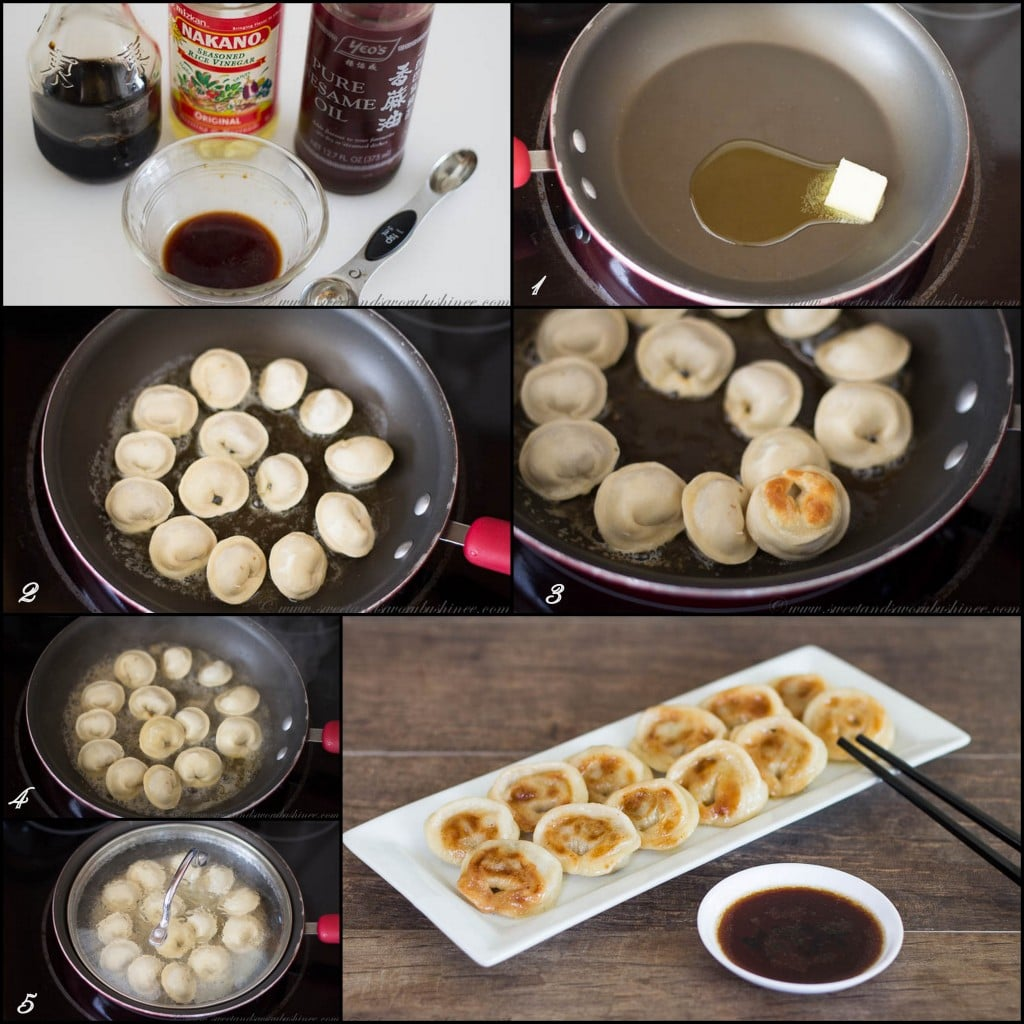 Beef Dumplings- Asian Style