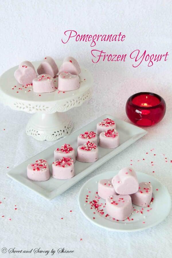 Pomegranate Frozen Yogurt-9