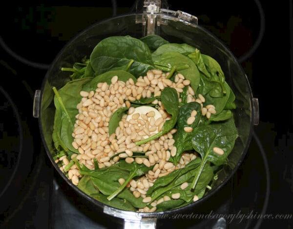 Spinach Pesto - Step 2