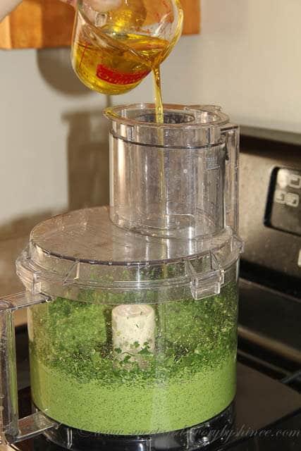 Spinach Pesto- Step 3