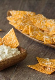 Homemade Spiced Tortilla Chips