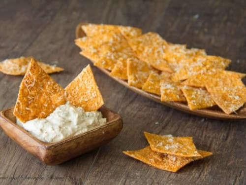 Homemade Spiced Tortilla Chips Sweet Savory