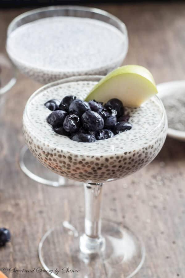 Chia Pudding is a great detox treat, healthy, delicious and filling.
