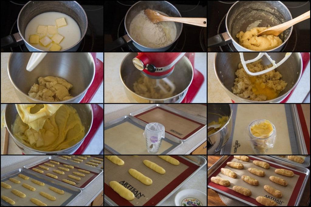 Tiramisu Eclairs Recipe