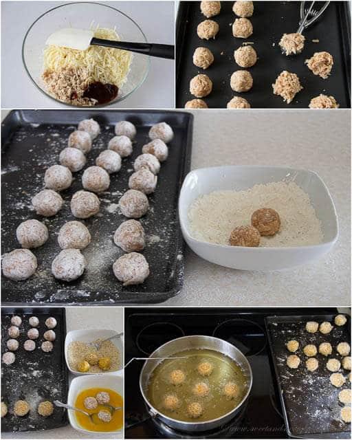 Cheesy BBQ Chicken Meatballs