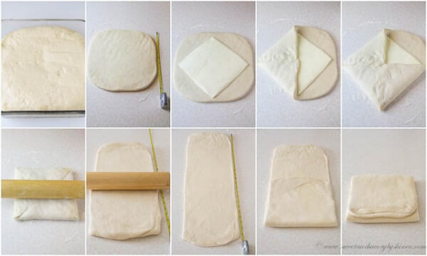 Homemade Croissants From Scratch, step by step photo instructions. Day 2