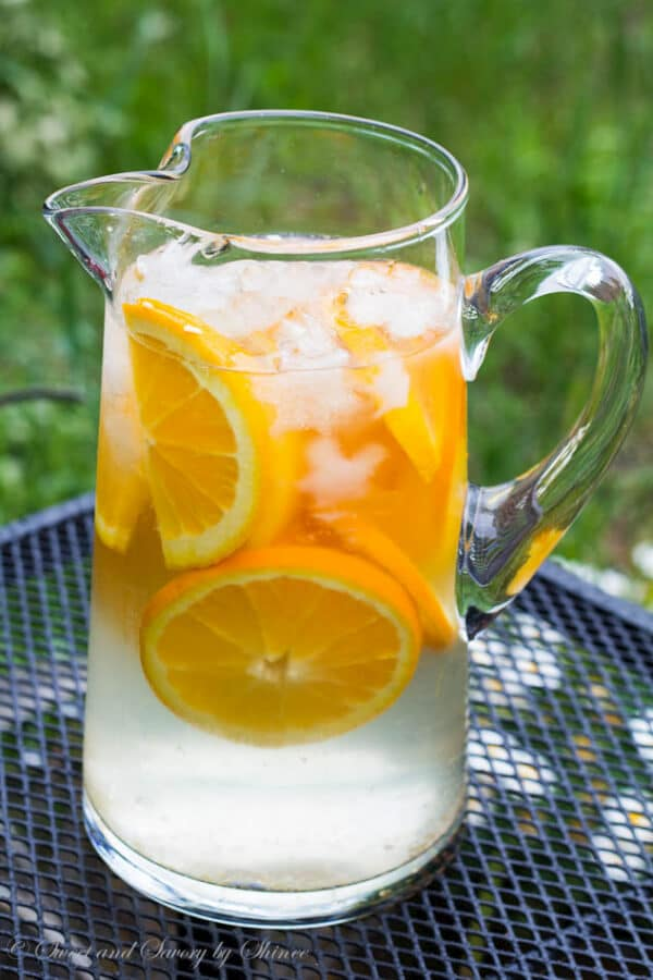 Ice Cold Citrus Water- Naturally infused water all summer long...