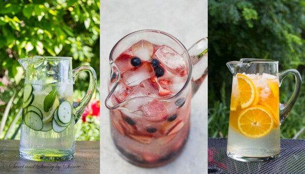 Here's my story about how I started drinking more water and less soda. And I encourage you to stay hydrated with naturally infused water all summer long.