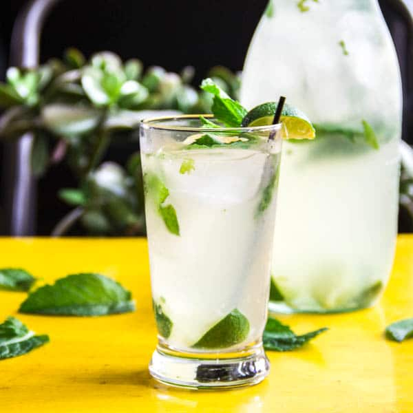 Classic mojito with subtle coconut flavor is here for you to sip on all summer long.