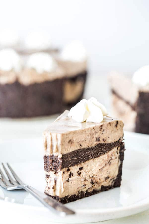 Rich and decadent Oreo ice cream cake is a perfect summer dessert for a crowd! Double the layers, double the goodness.