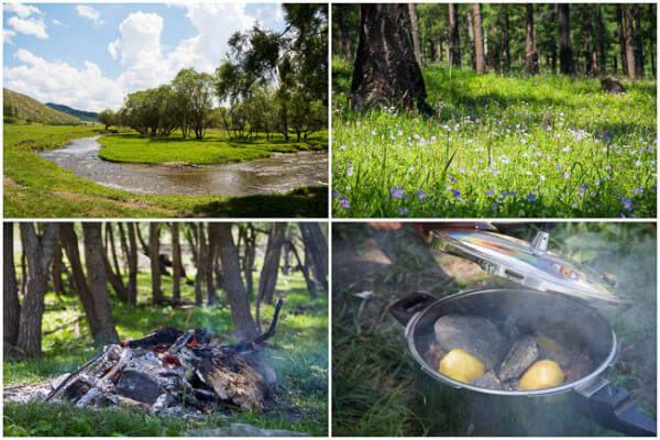 Camping and real Mongolian bbq ~Sweet and Savory by Shinee