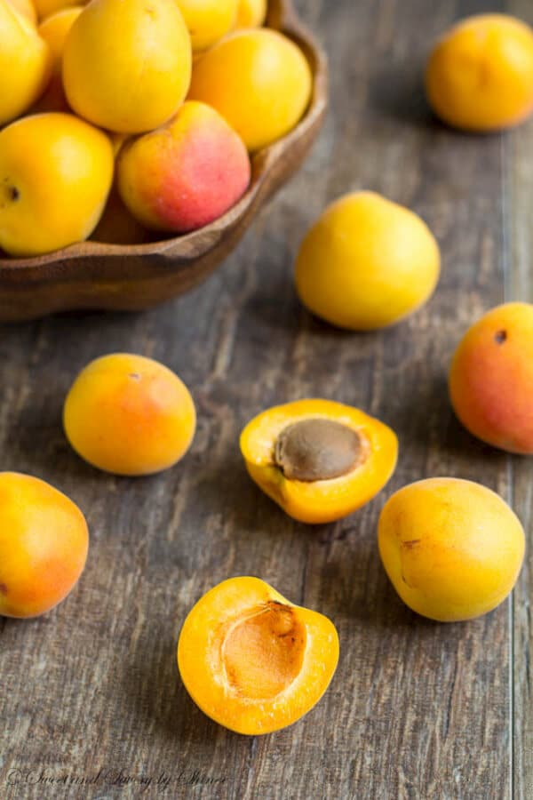 This slightly tart apricot jam is the best way to preserve your apricots this season. Add some jalapeno for a lil kick, or sweeten it with honey. There is something for everyone.