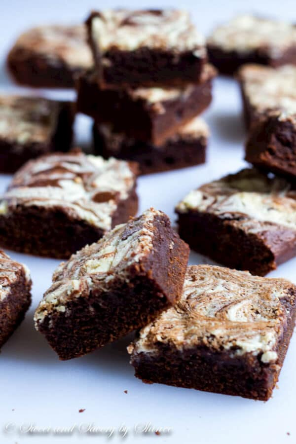 Loaded with 3 different chocolates and chocolate liquor, these triple chocolate Kahlua brownies are chocoholic's ultimate dream!