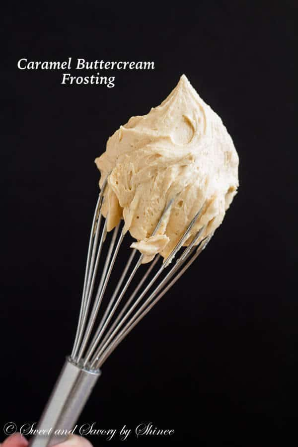 With just 3 ingredients, you can whip up this easy caramel buttercream frosting in less than 5 minutes.