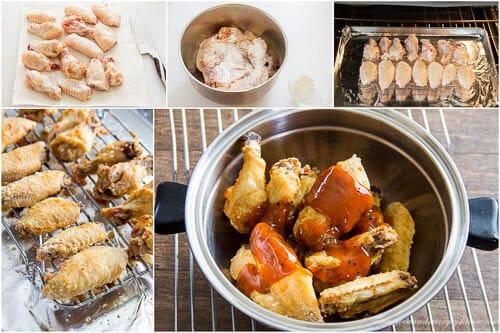 Jamaican Jerk Chicken Wings- step by step
