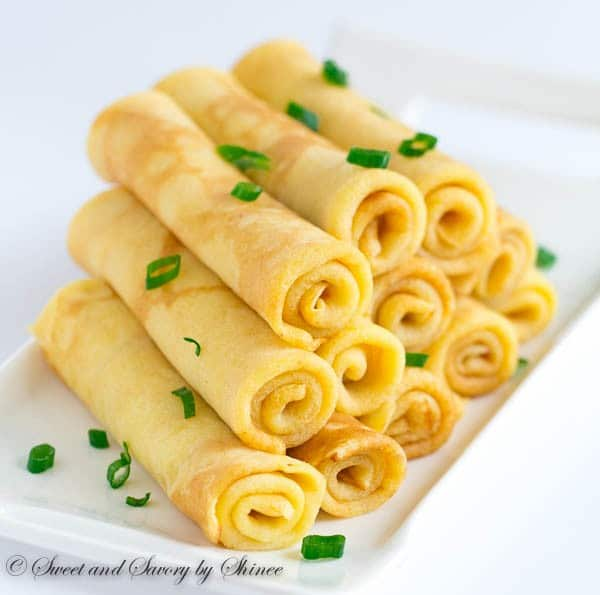 Savory Cheese Crepes Sweet Savory