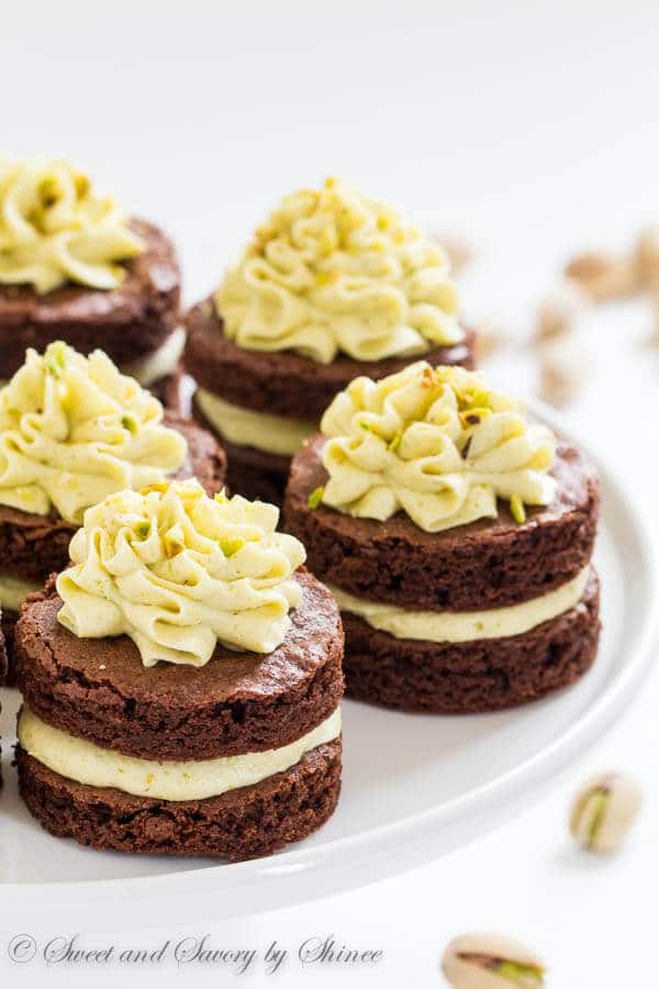 Mini Chocolate Layer Cakes ~Sweet & Savory by Shinee