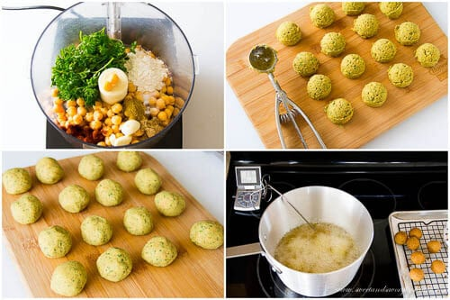 Falafel balls- step by step photo recipe
