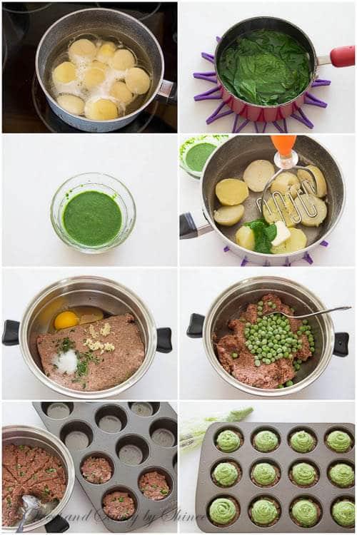 Mini Shepherds Pies- step by step recipe