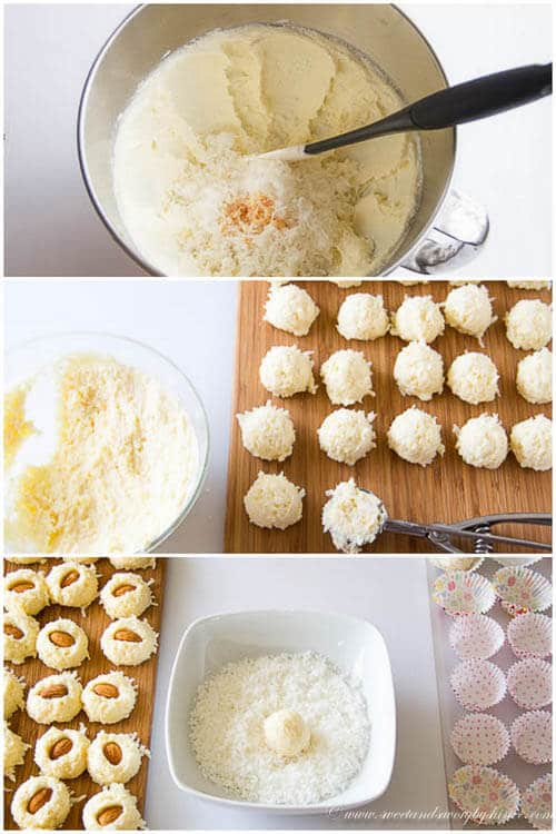 Rafaello/ Coconut Almond Balls- step by step photo tutorial