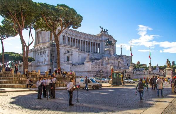 Travel Photo Journal- Rome- Piazza Venezia