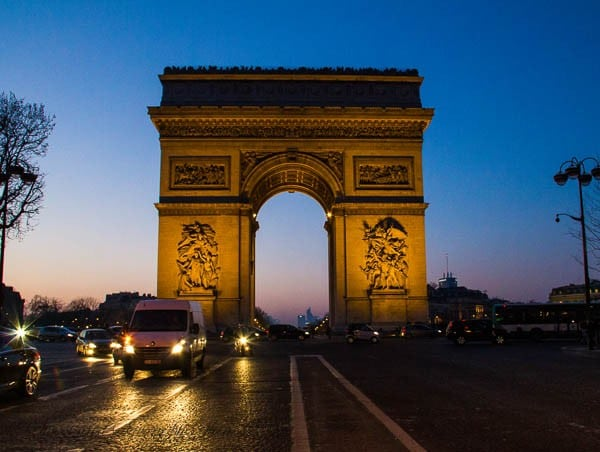 Travel Photo Journal- Paris Arc de Triomphe