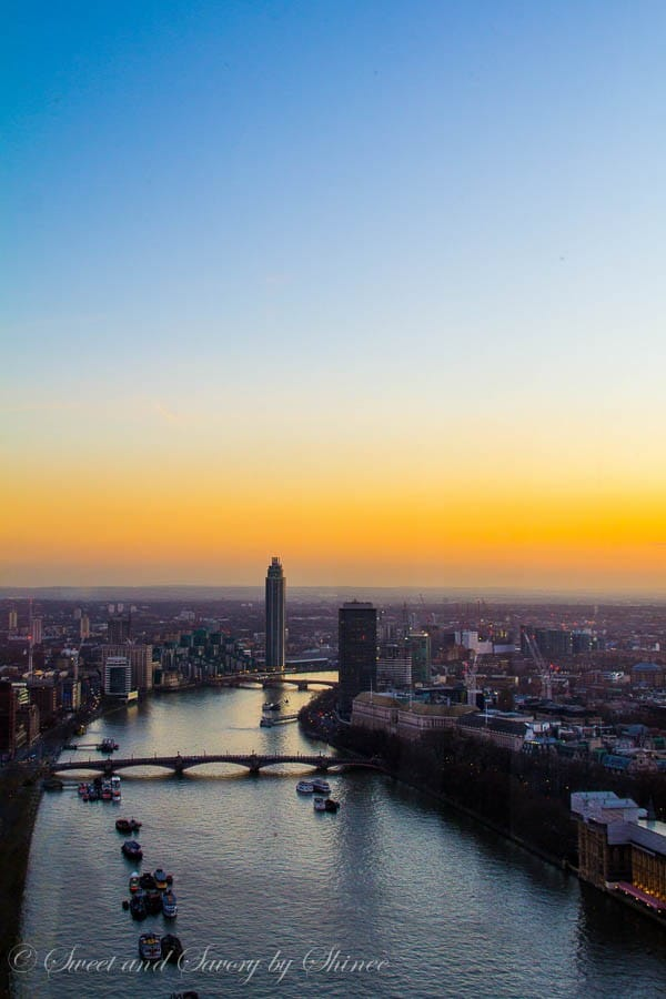 Travel Photo Journal- LONDON at Sunset