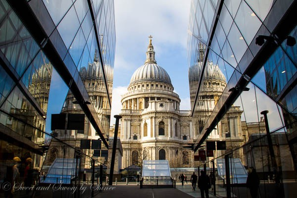 Travel Photo Journal- LONDON -St Paul's Cathedral