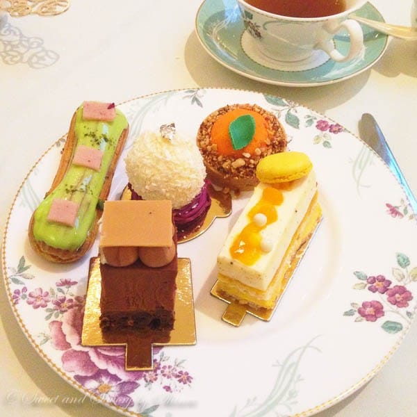 Travel Photo Journal- LONDON- Afternoon Tea at Savoy