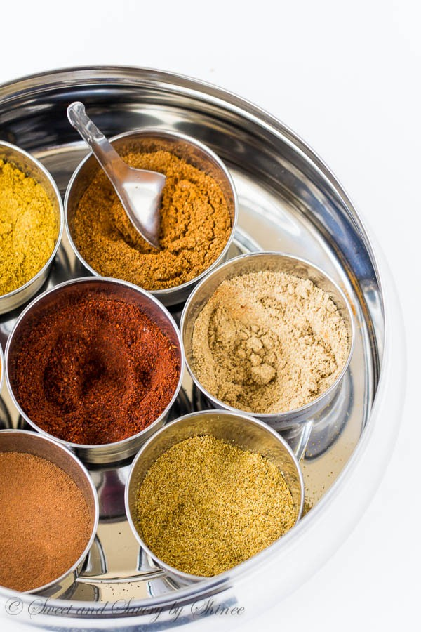 Aromatic spices for Roasted Beet Dip