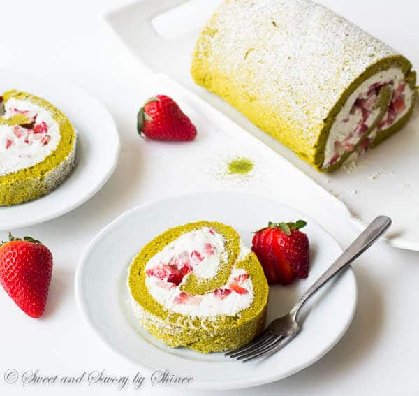 Cake Made With Fresh Strawberries