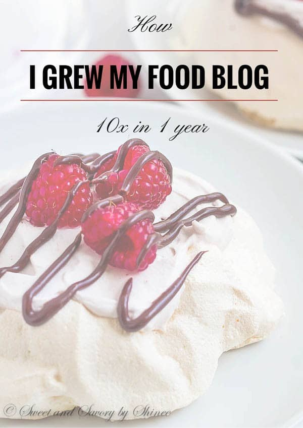 Actionable steps to grow your food blog that you can start implementing today. This is not get rich fast approach. However with persistence and hard work, you will taste the fruit of your labor in less than a year.