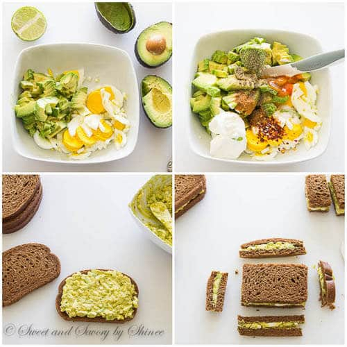 Tea sandwiches- step by step photo tutorial
