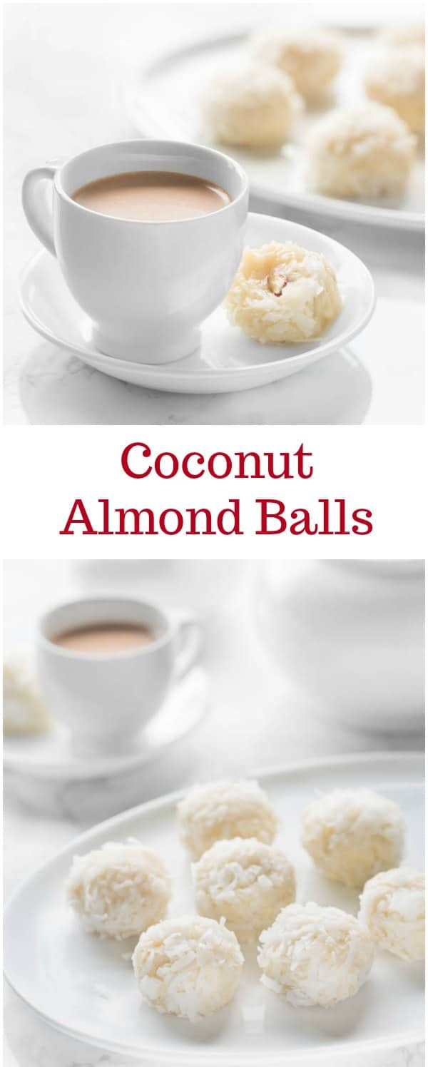 Homemade version of decadent Raffaello candy... These sweet, chewy, buttery coconut almond balls are a delightful treat for every coconut fanatic!
