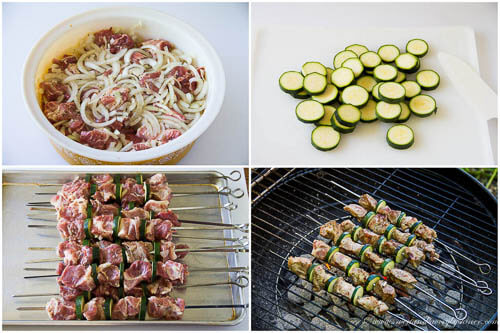 Pork Kebabs/Shashlik- step by step photo tutorial