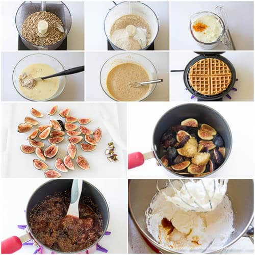 Whole wheat waffles- step by step photo tutorial