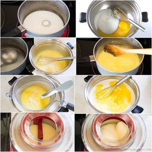 Lemon ice cream- step-by-step photo tutorial