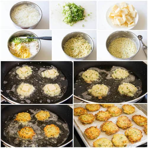 Potato pancakes- step by step photo tutorial