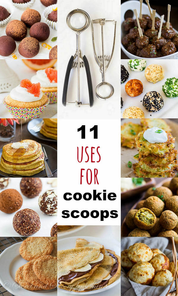 Cookie Scoop Uses