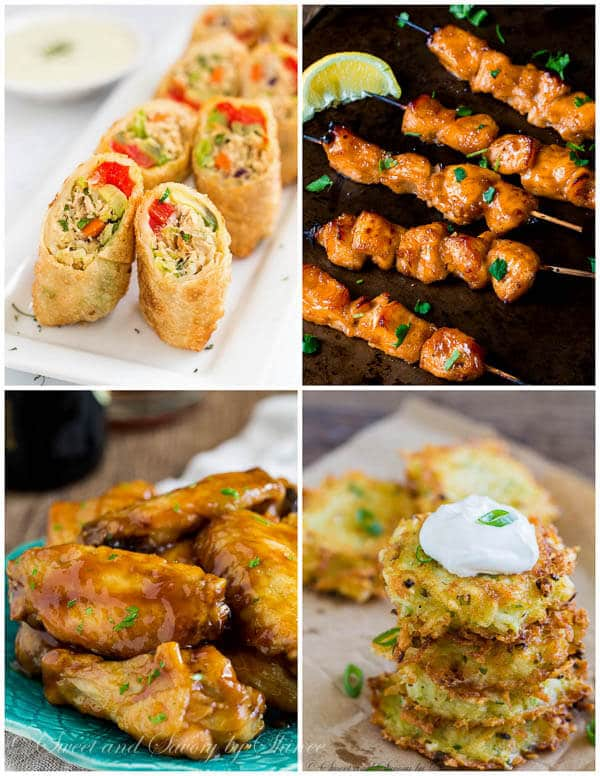21 Delicious Ideas for Big Game Day- Chicken and more