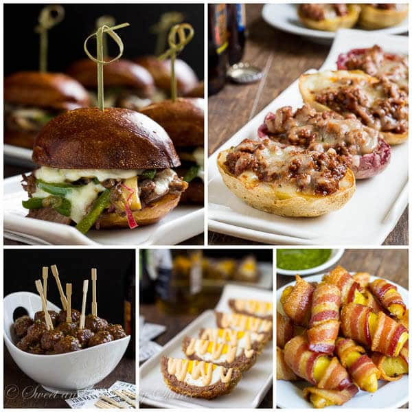21 Delicious Ideas for Big Game Day- For Meat-Lovers