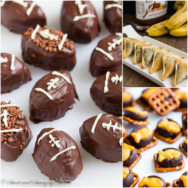 21 Delicious Ideas for Big Game Day- Sweets