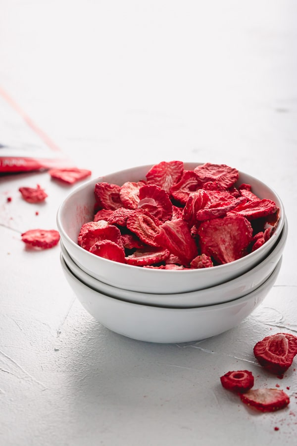 What is freeze-dried strawberries?