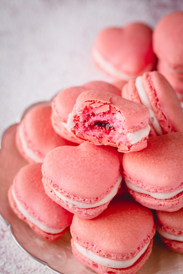 Strawberry Macarons Sweet Savory