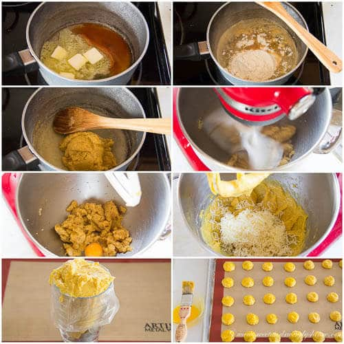 Havarti cheese puffs- step by step photo recipe
