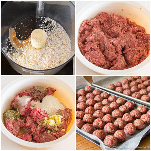 How to freeze meatballs, step by step photo instruction.
